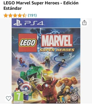 Juego para PSP4 Lego Marvel
