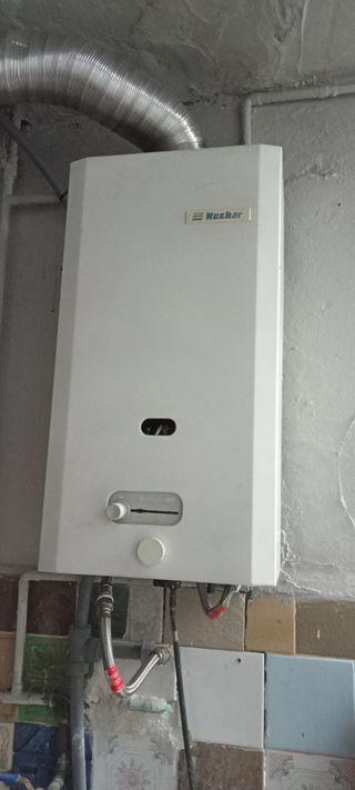 calentador de butano