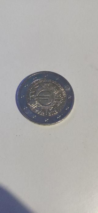 Moneda colección blindesrepublik deutschland de 2€