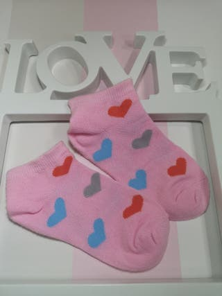 talla 23/26 calcetines tobilleros NUEVOS