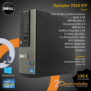 PC Sobremesa Optiplex 7010 SFF Tipo D