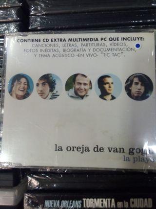 LA OREJA DE VAN GOGH. La playa. CD single