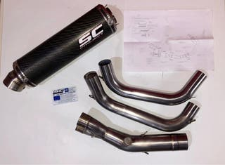 Tubo de escape SC-Project para ER-6n y ER-6f
