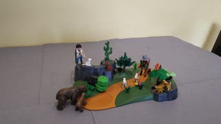 Playmobil set cazador