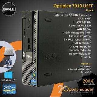 PC Sobremesa Optiplex 7010 USFF Tipo A