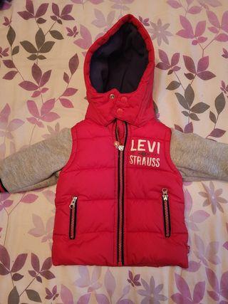 chaqueta niño levis
