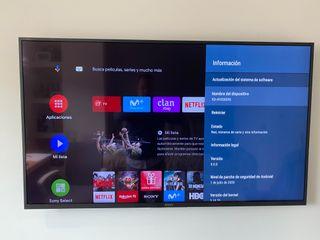 """TV Sony 49"""" Ultra 4K 49XG8096."""