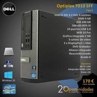 PC Sobremesa Optiplex 7010 SFF Tipo C