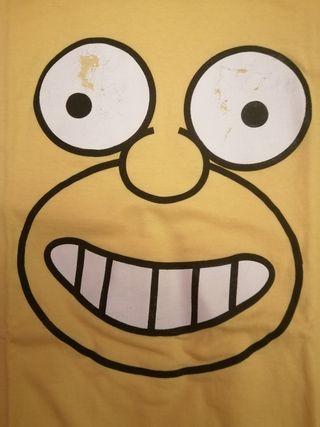 Camiseta amarilla. Manga corta XL.