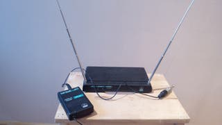 Inalámbrico AKG sr 51 con emisor PT51.