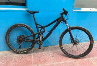 bicicleta mtb 27,5 + fox no negociable