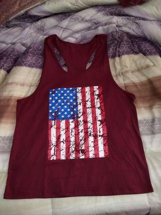 Camiseta de tirantes con espalda abierta NUEVA, XL