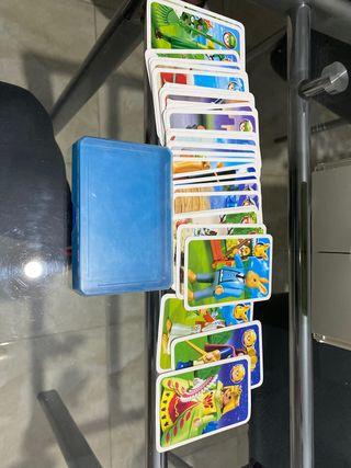 Juegos de cartas playmobil