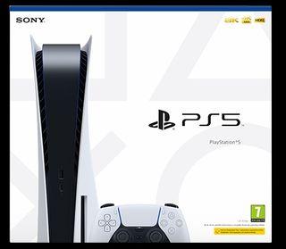 PS5 nueva precintada y con 2 años de garantia