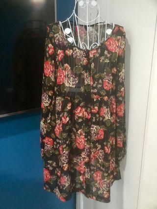 Vestido mini / blusa H&M a estrenar