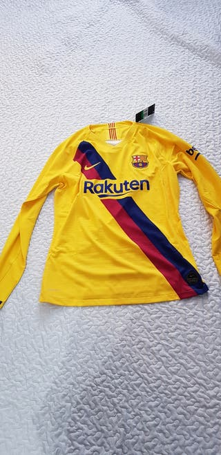 camisetas barça manga larga Talla XL