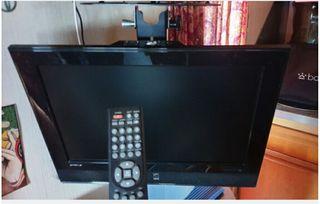 Télévision 12v/220v autocaravana, plasma a color