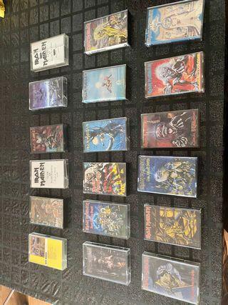 Vendo cassettes Iron Maiden originales