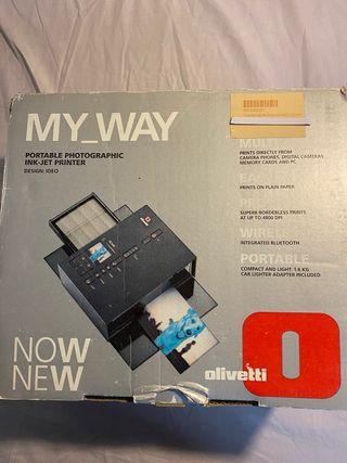 Impresora de fotos portátil Olivetti