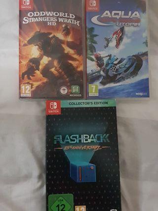 Pack juegos Nintendo Switch