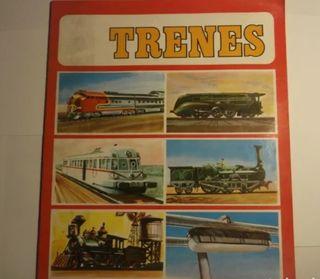 ALBUM DE CROMOS DE TRENES