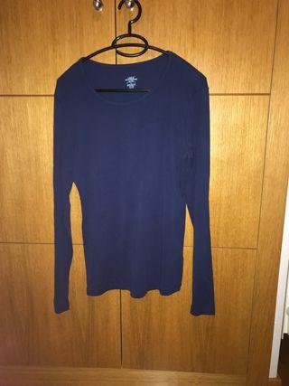 Camiseta mujer manga larga talla L