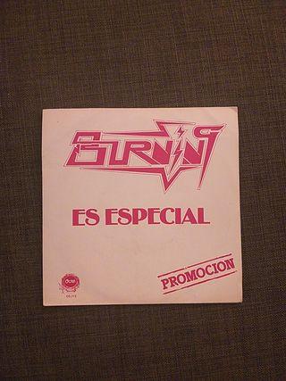 BURNING (Single/vinilo)