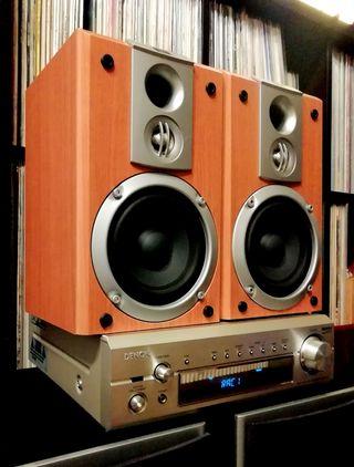 JBL + DENON HiFi Stereo 200w Equipo Altavoces
