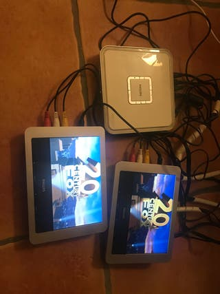 Reproductor DVD/MP3 coche 2 pantallas