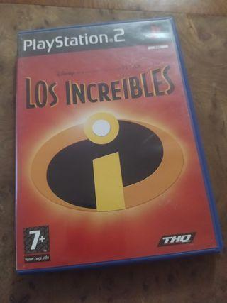 LOS INCREIBLES para PS2