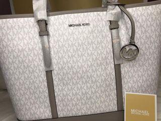 Bolso de Michael Kors Travel Blanco