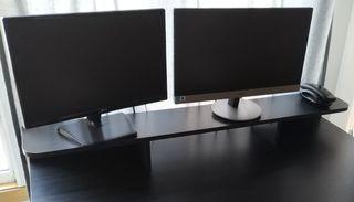 2 Monitores led ips