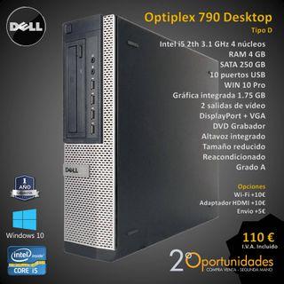 PC Sobremesa Optiplex 790 Desktop Tipo D