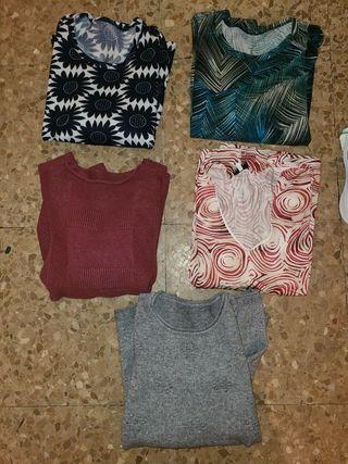 lote camisetas mujer
