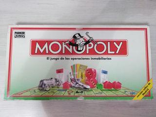 MONOPOLY (clásico) + PUZZLE GEOGRÁFICO DEL MUNDO