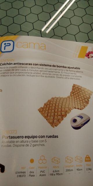 colchón antiescaras con bomba ajustable