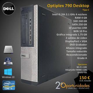 PC Sobremesa Optiplex 790 Desktop Tipo C