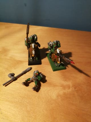 Orcos Jabali Warhammer Fantasy