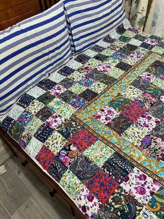 Beautiful handmade double blanket