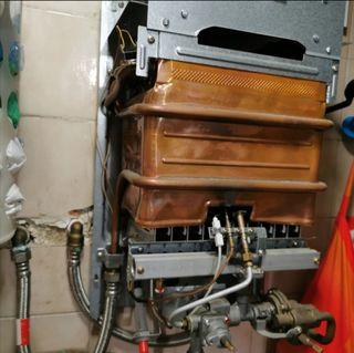 Reparación de calderas, calentadores, técnico