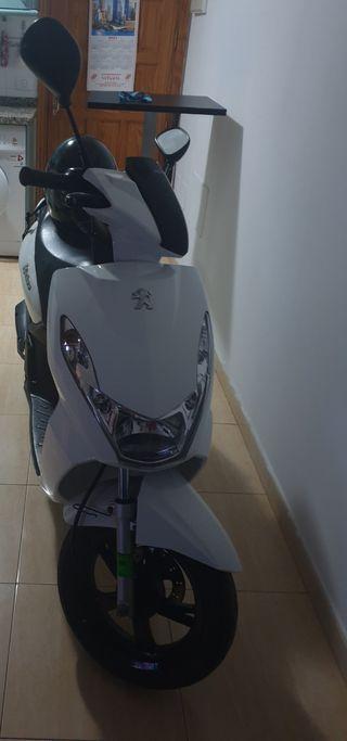 Nueva Peugeot se vende scooter