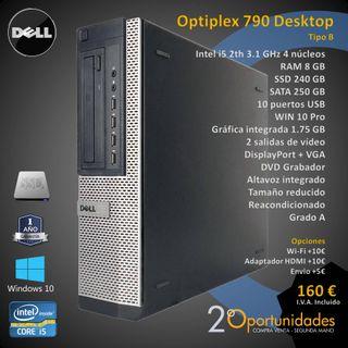 PC Sobremesa Optiplex 790 Desktop Tipo B