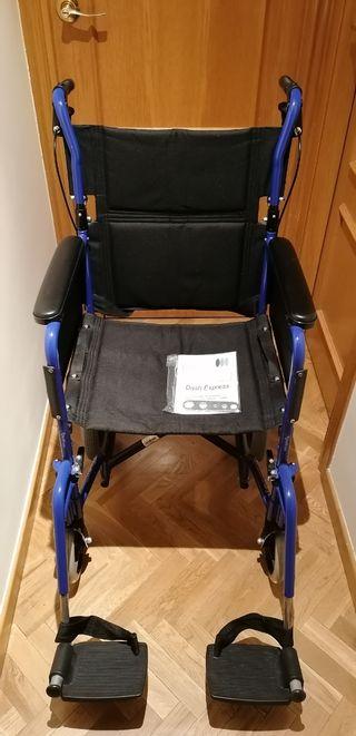 Silla ruedas plegable Dash Express ligera sin uso