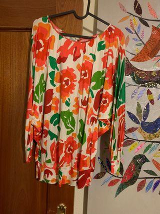 Camiseta estampada Zara