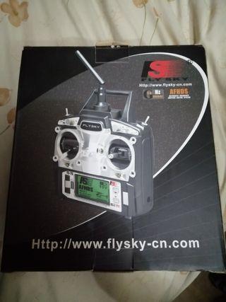 emisora y receptor 6canales fly sky fs-t6