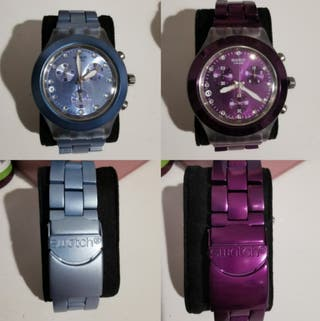 PACK DOS RELOJES SWATCH