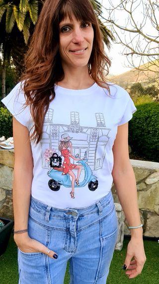camiseta Vespa