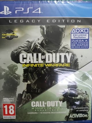 Call Of Duty Legacy Edition [PS4] Compatible [PS5]