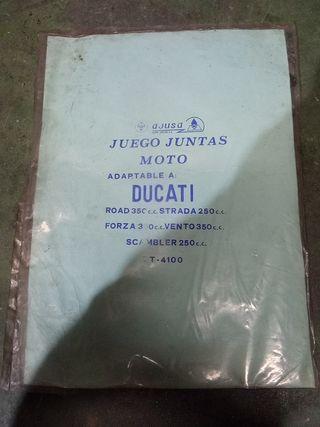 juntas de motor Ducati Road 350 estrada 250