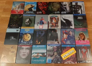 Lote 23 steelbooks bluray